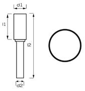 Immagine di Fresa rotativa MD cilindrica AB8100