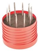 Immagine di Kit frese rotative MD coniche 10 pz. AB99K2