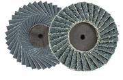 Immagine di Disco abrasivo lamellare zirconio con attacco rapido maschio AB5090