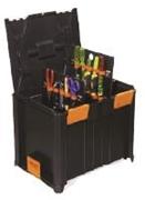 Immagine di MULTI BOX cassetta grande completa di kit 2 pannelli sul fondo