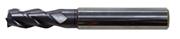 Immagine di Fresa in metallo duro ad alte prestazioni TA1422, rivestita Nano TiAlN, elica 41/43/45° a passo differenziato, 3 taglienti, per cave ad alti avanzamenti