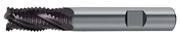 Immagine di Fresa HSS-Co standard TA1419, rivestita TiAlN, elica 30°, 4 taglienti, per sgrossatura, con attacco weldon