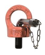 Immagine di Golfare girevole H.Q. con chiave, orientabile per ogni direzione di carico, certificato CE