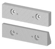 Immagine di Ganascia dentata, passo 3, per morsa modulare